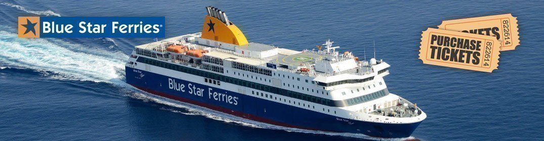 Welcome to Blue Star Ferries | Blue Star Ferry Tickets | go-Ferry com